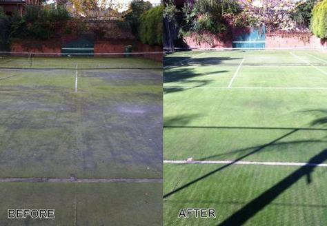 Tennis Court Power Washing Montgomery PA